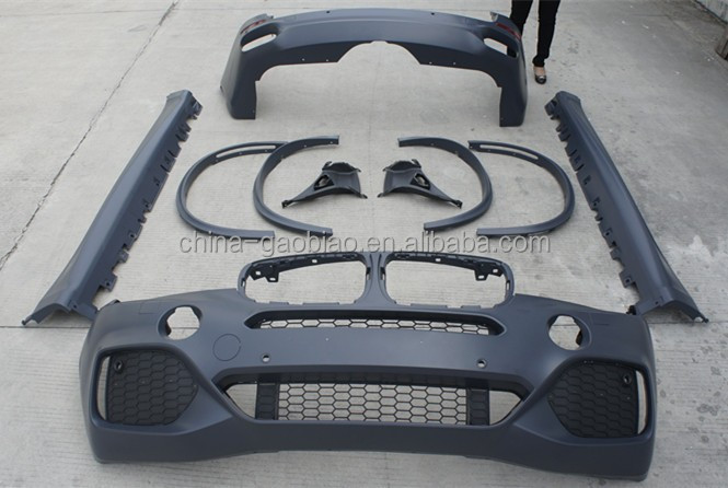 For BMW X5 Restyling body kit sell by maker directly/material best PP