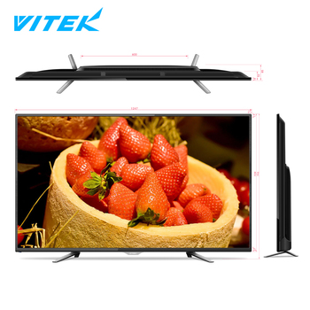 Factory Price 55 Inch Full HD LED Television big screen Smart LCD TV