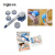 China Factory Supplier Waterproof Spinning Spa Bath Brush with Bettery Powered