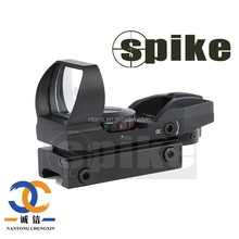 Spike HD108 Hunting Red and Green Dot Reflex Sight Scope for AR15, AK47, M4 - Highly Accurate Gun Optics