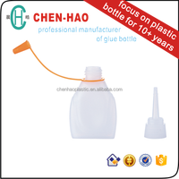 Adhesive Glue Bottle 6gr plastic bottle hdpe bottle for glass leather