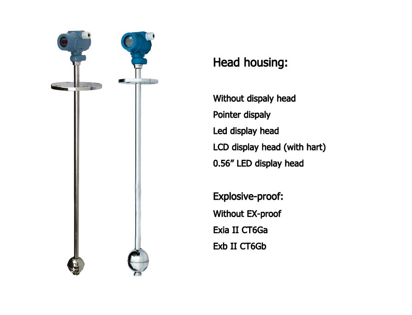 magnetic float ball water level gauge