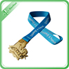 custom cheap sports marathon medal with ribbon for souvenirs