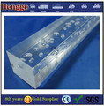 Factory price extrude transparent square acrylic bubble rod with SGS