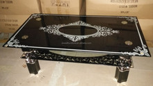 Modern S Shape Glass Coffee Table New Design