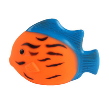 Toprank Simple Cheap New Products Custom Fish Shaped Sound Squeaker Dog Toy Chew Vinyl Toy,Vinyl Funny Pet Toy
