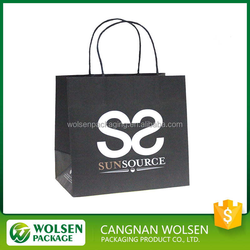 promotion 2016 factory direct sell China wholesale gift paper shopping bags