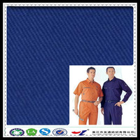 twill dying fireproof material fabric for workwear china wholesale fabric