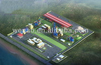 New 300-6000T/D steam coal for cement plant,cement production line