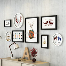 wall deco photo frame/ picture frame set