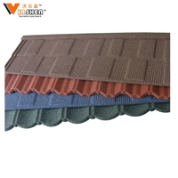 Cheap price galvalume sheet colored stone coated roofing metal roof tile