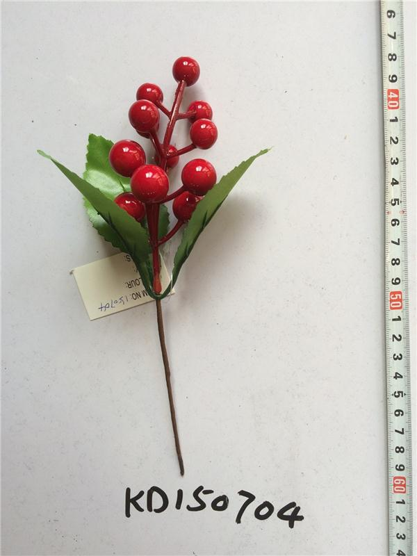 Hot sale artificial berry Christmas berry KD150704.JPG