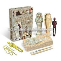 Egyptian Tomb Dig & Play Excavation With Egypt Mummy Archaeological Set