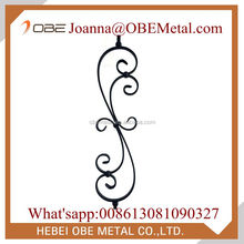Indoor Stair Wrought Iron Scroll Balusters Wholesale