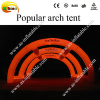 various outdoor led arch, pillar, cone, balloon inflatable lighting