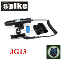 Adjustable Tactical green Laser/green Dot Telescopic Sight for Pistols Gun with pressure switch & 2 mounts laser sight