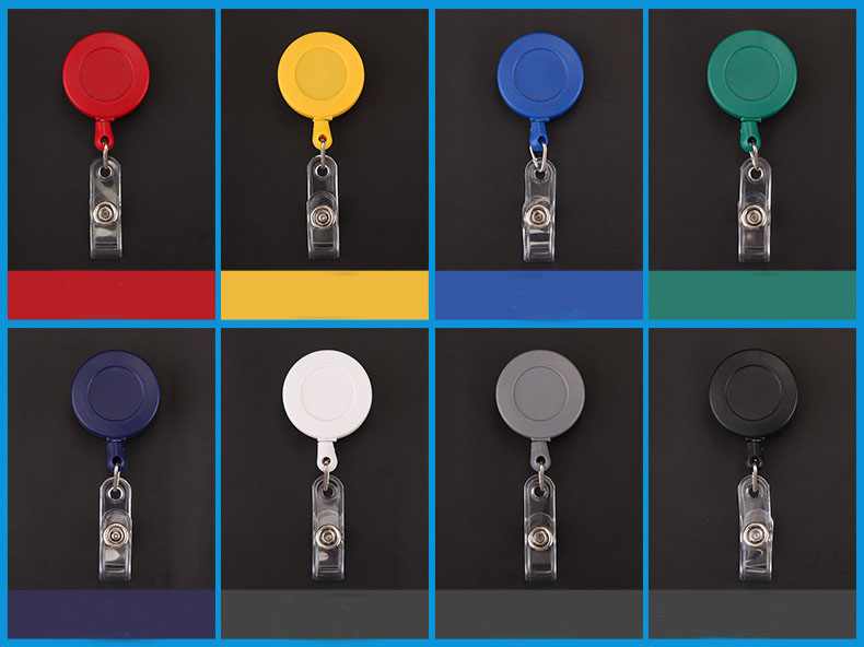 Ready to Ship Retractable Yoyo Badge Reel for ID Card Holder