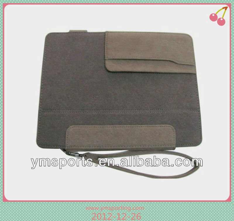 Leather tablet cover for apple