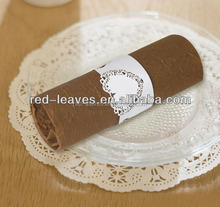 Laser cutting hearts napkin rings for home decoration india napkin rings for wedding party decoration