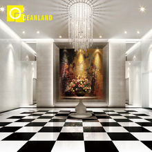 nano ceramic super white color floor tile 60x60