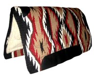 Saddle Pads with Fleece LIning and leather wear