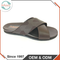 Comfortable In The Warm Weather PU Insole Mens Outdoor Slippers And Sandals
