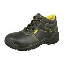 OEM Leather Iron Toe And Iron plate Anti-slip Safety Shoes Work Shoes Middle East