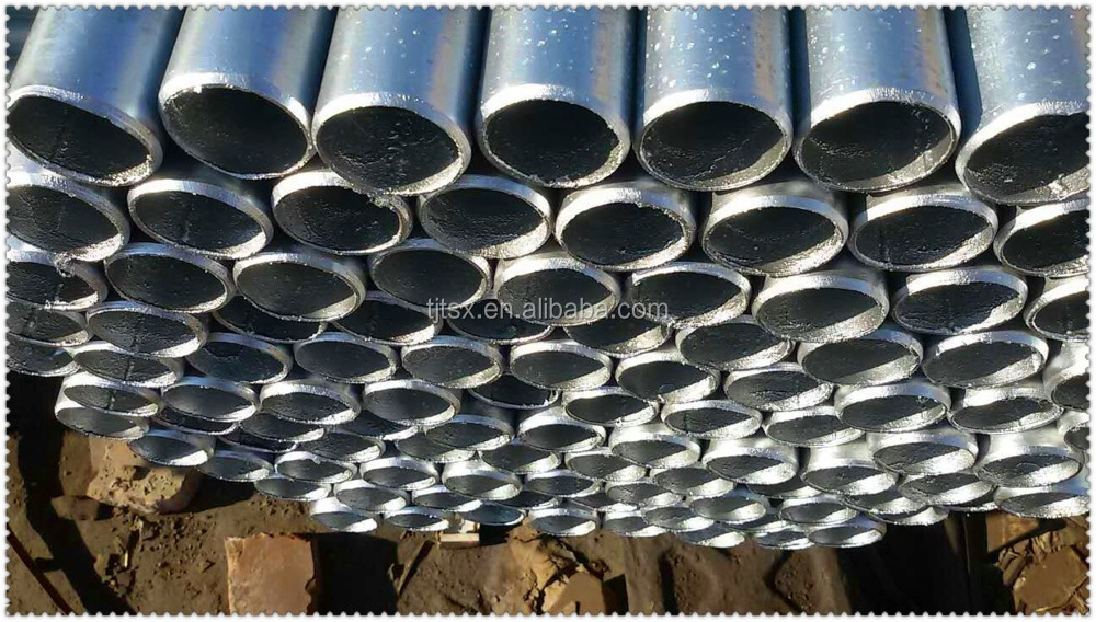 TSX-SGP20020 ERW WELDED PRE GALVANIZED MS STEEL SQUARE PIPE SELLERS