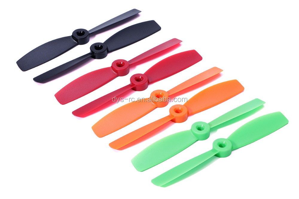 DYS BullNose prop 5045(T5045) racer Propeller CW/CCW for Mini FPV Multirotor/Quadcopter Black/ Red/ Orange/Green