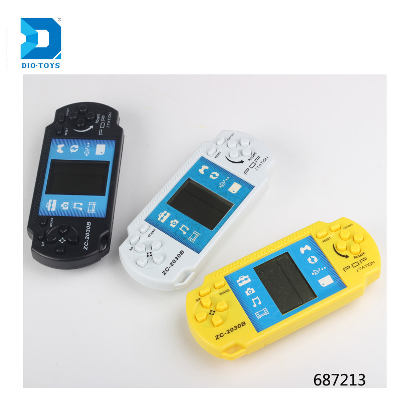 Best selling game player handheld brick game 9999 in 1 for kids
