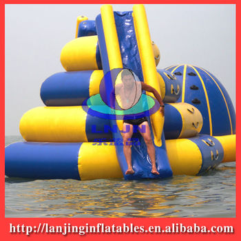 2015 Hot PVC Inflatable Water Slider/inflatable sports