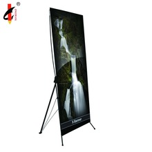 Economic 60*160cm advertising promotion display X banner stand