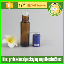 roll on perfume bottles,roll bottles oudh,empty aluminum cover roll on glass bottle for sale