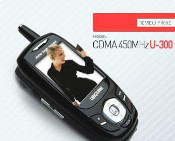 Brand new CDMA 450MHz Mobile phone (U-300)