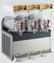 3 bowls commercial slush machine for sale with Aspera compressor