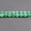 CB33994 New and hot sale Dyed Transparent Mashan Jade Rounds