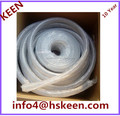 Various specifications of cloth, silicon rubber tube, polyester cloth, silicon rubber tube, transparent woven silicon rubber tub