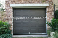 electric control sectional folding garage door