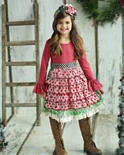 Wholesale Children Kids Girls Long Sleeve Cotton Dress with Frocks Designs