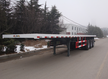 cheap semi trailers, HOWO lowbed semi trailer truck for sale