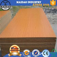 laminated mdf board 8mm thickness uv coated mdf board