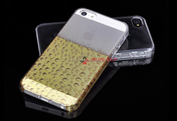 Sublimation crystal case for iPhone 5, 3D Sublimation Phone Cases,clear phone case,see-through cover,SUN-FLY sublimation case