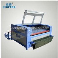 Material Savings Laser Cutting Machine for clothes , dresses CAD data