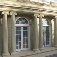 Good quality waterproof decorative stone Corinthian pillar for projects