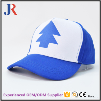 2017 high quality cheap custom 6 panel plastics printed caps structured dad hats