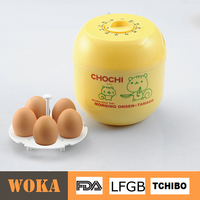 plastic Boiled egg maker with timer/ice bucket