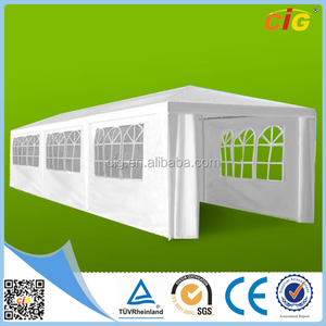 Manufacturer Price 3x9m Custom White Canpoy Canvas Pop Up Folding Tent