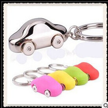 Free shipping Factory direct Jewelry Creativity Zinc Alloy keychains High imitation car Key chain sports trinket key ring clip