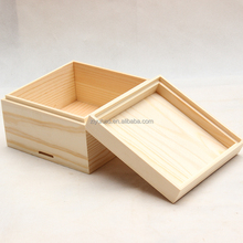 Wooden Material Small Wooden Crate/Wooden Box
