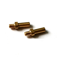 Customized manufacturer custom small metal cnc turned brass set screws